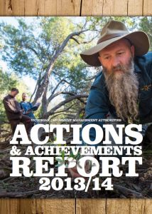 Victorian CMAs Actions and Achievements Report 2013/2014 cover image