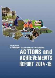 Victorian CMAs Actions and Achievements Report 2014/2015 cover image