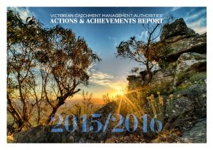 Victorian CMAs Actions and Achievements Report 2015/2016 cover image